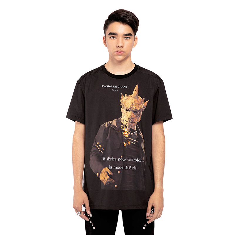 Gargoyle T-shirt Rivet Up
