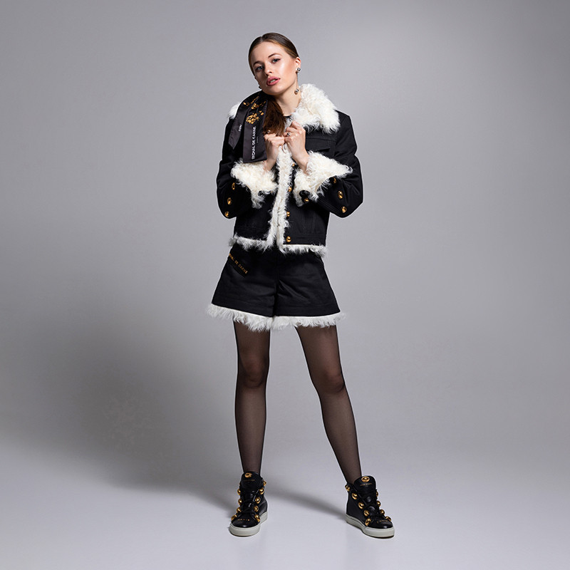 Short Suit with Fur Capsule Collection