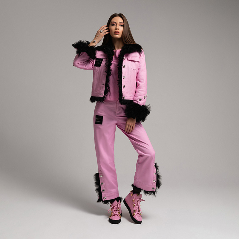 Pantsuit with Fur Capsule Collection