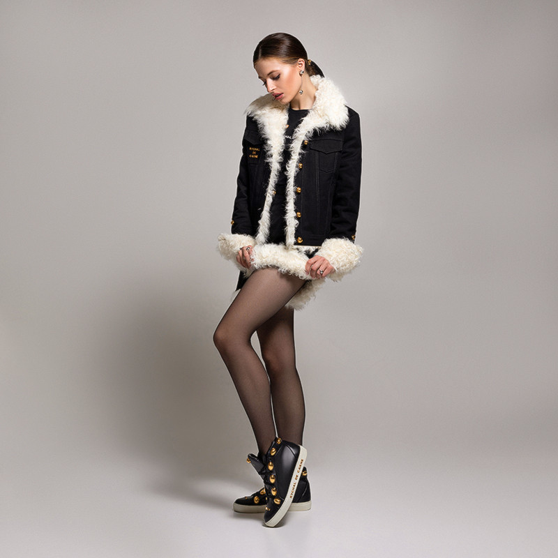 Shorts with Fur Capsule Collection