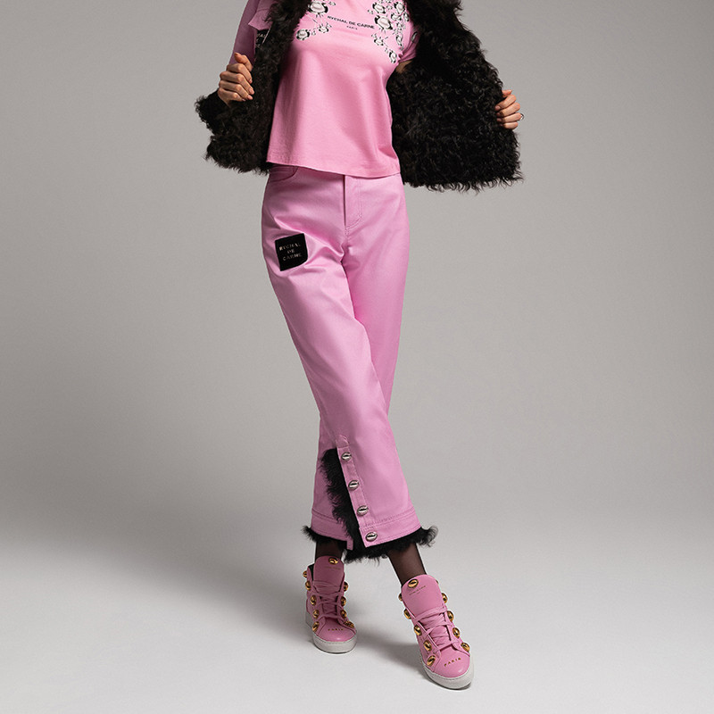 Trousers with Fur Capsule Collection